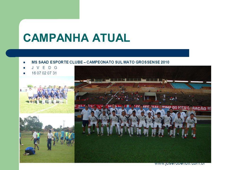 CAMPANHA ATUAL www.joserobertotf.com.br