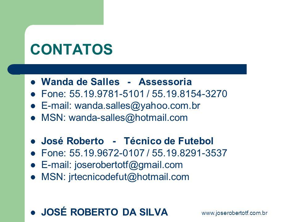 CONTATOS Wanda de Salles - Assessoria