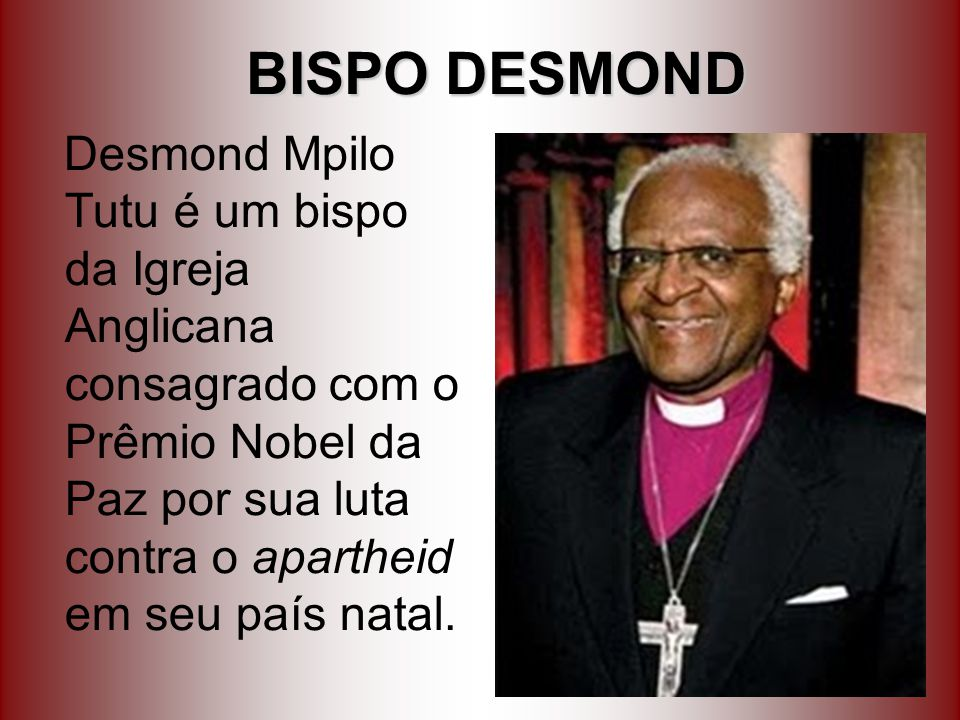 BISPO DESMOND