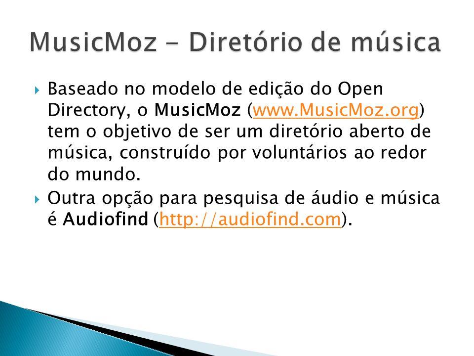 MusicMoz - Diretório de música