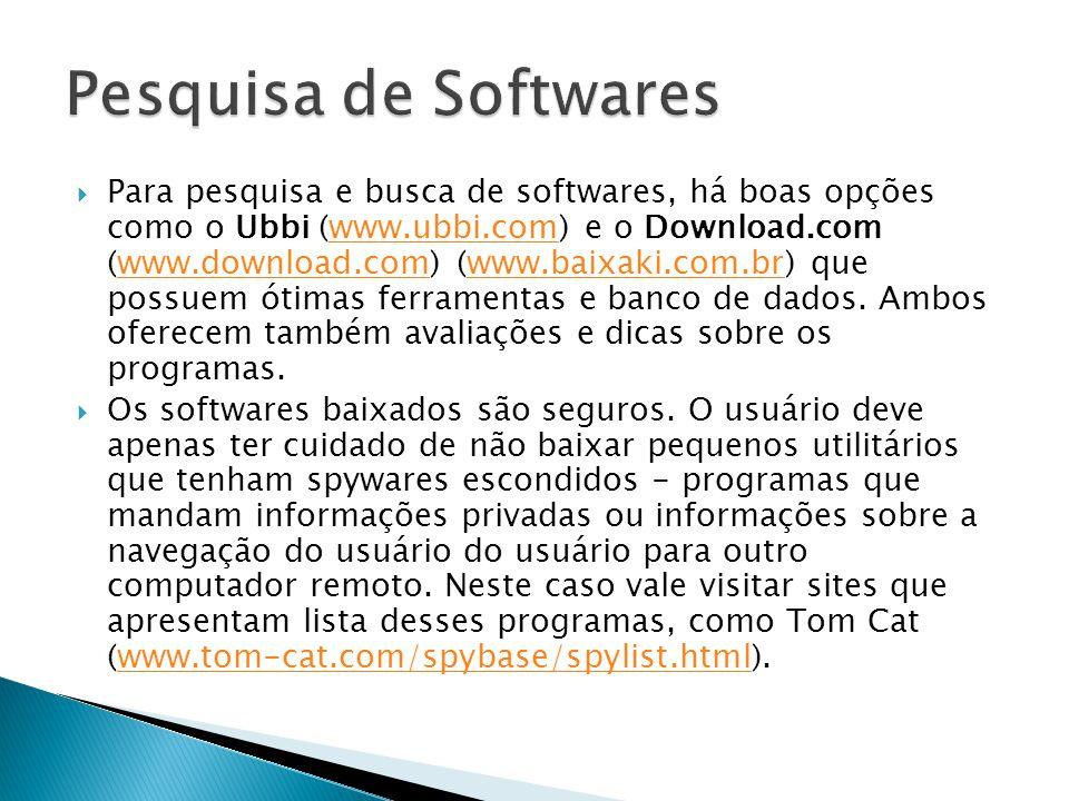 Pesquisa de Softwares