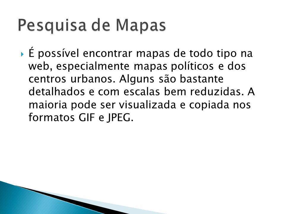 Pesquisa de Mapas