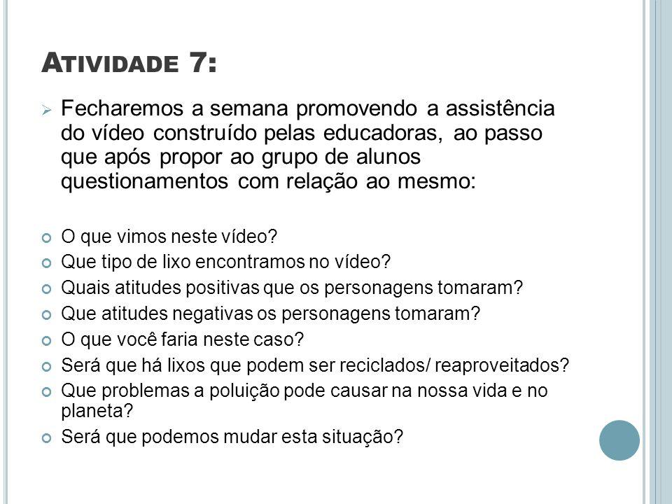 Atividade 7:
