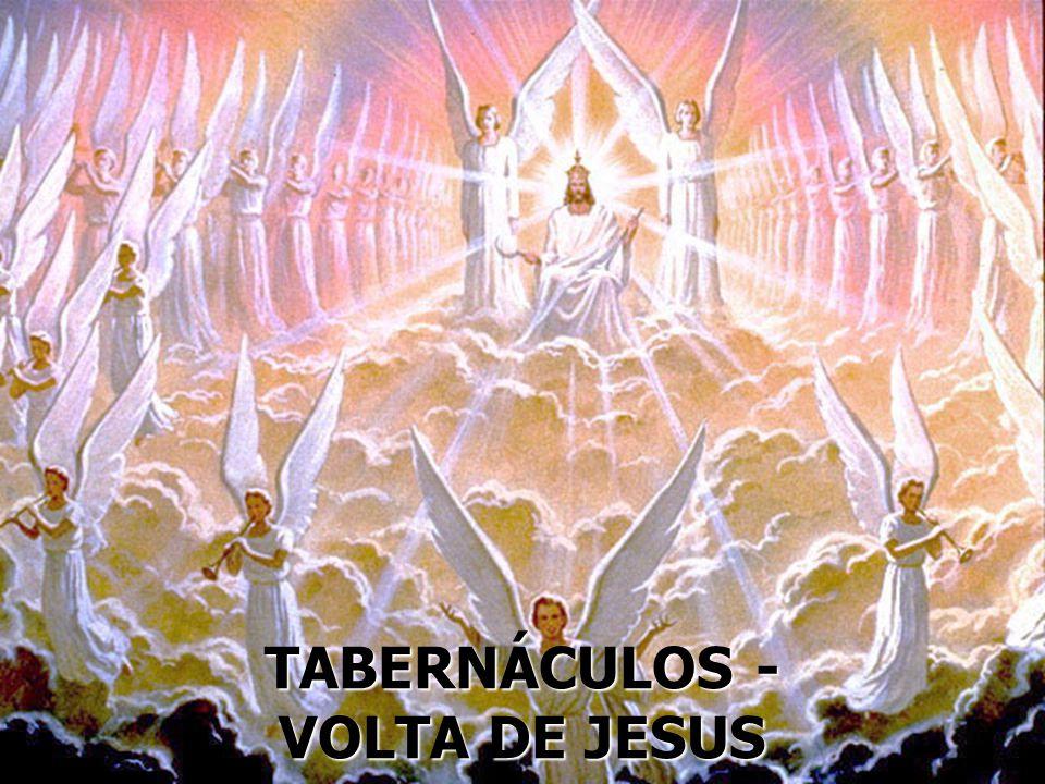 TABERNÁCULOS - VOLTA DE JESUS
