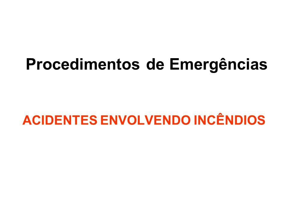 Procedimentos de Emergências
