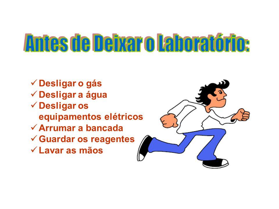 Antes de Deixar o Laboratório: