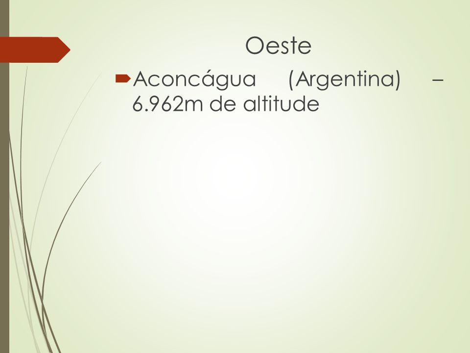 Oeste Aconcágua (Argentina) – 6.962m de altitude