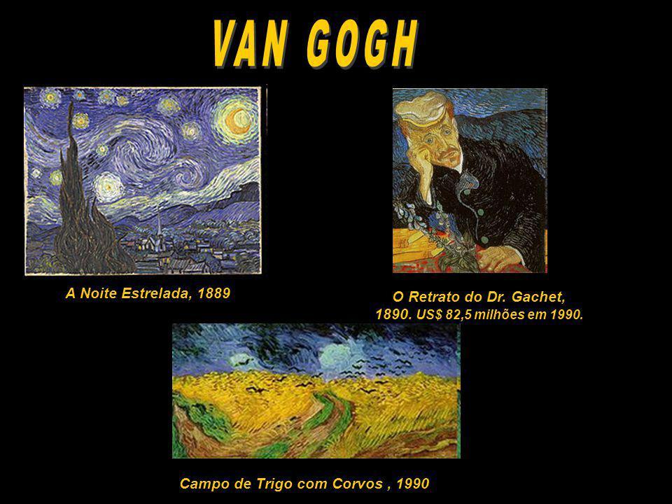 VAN GOGH A Noite Estrelada, 1889