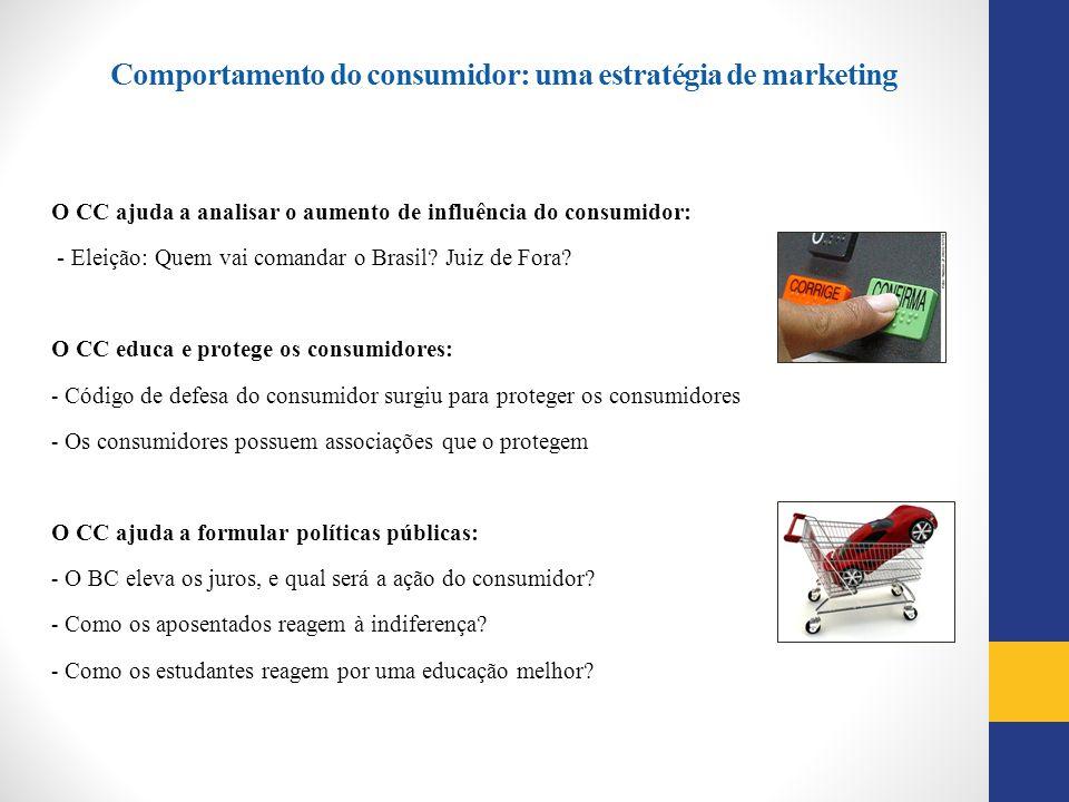 Comportamento do consumidor: uma estratégia de marketing