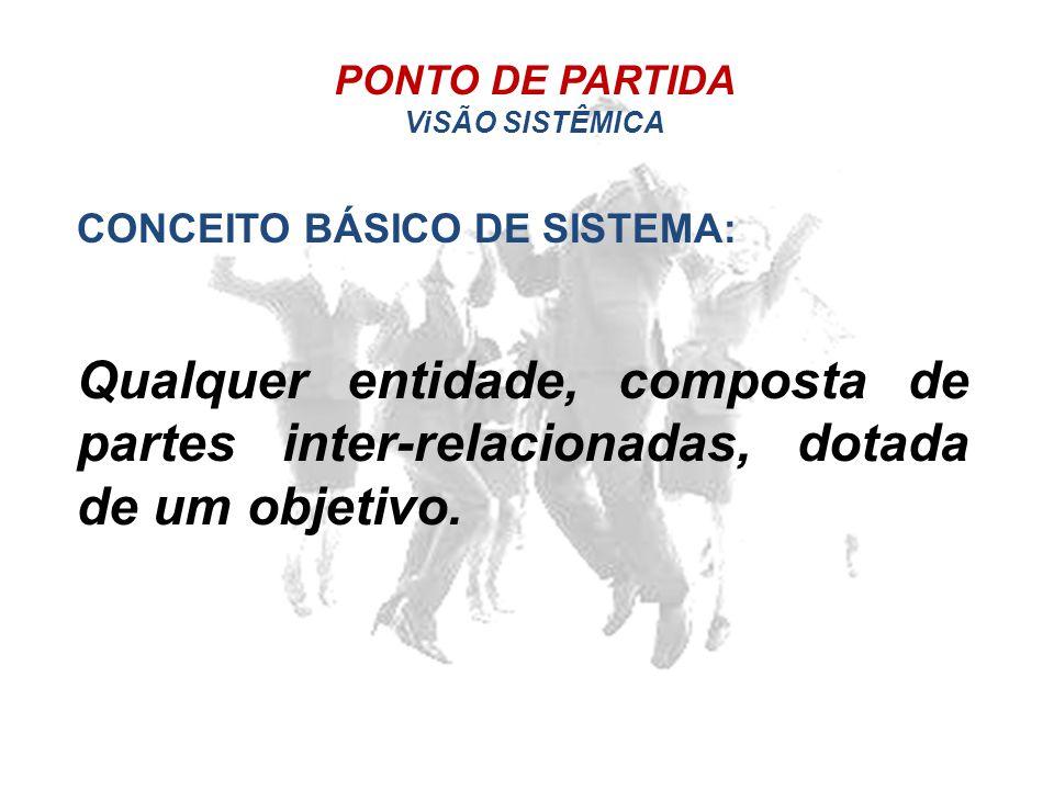 PONTO DE PARTIDA ViSÃO SISTÊMICA.