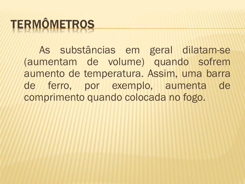 Termômetros