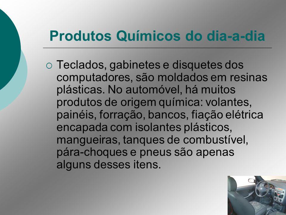 Produtos Químicos do dia-a-dia