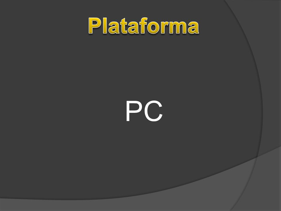 Plataforma PC