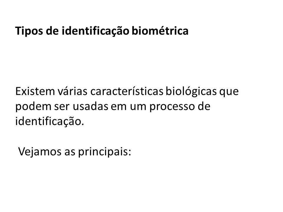 Tipos de identificação biométrica