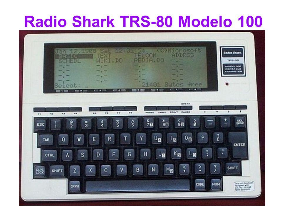 Radio Shark TRS-80 Modelo 100