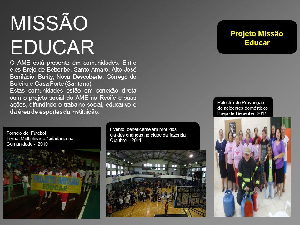 MISSÃO EDUCAR Projeto Missão Educar
