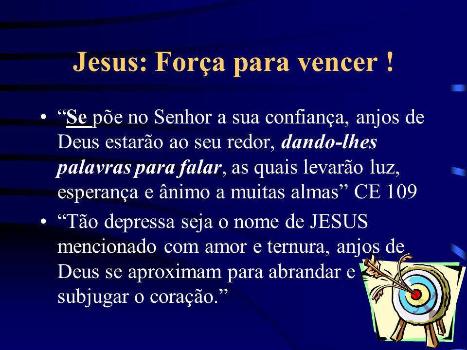 Jesus: Força para vencer !