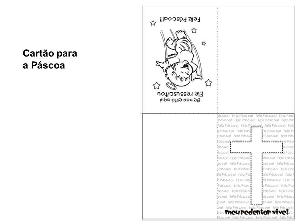 Cartão para a Páscoa