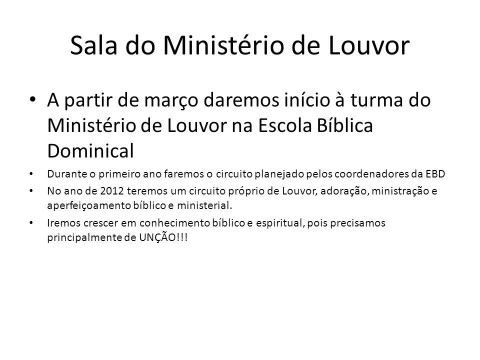 Sala do Ministério de Louvor