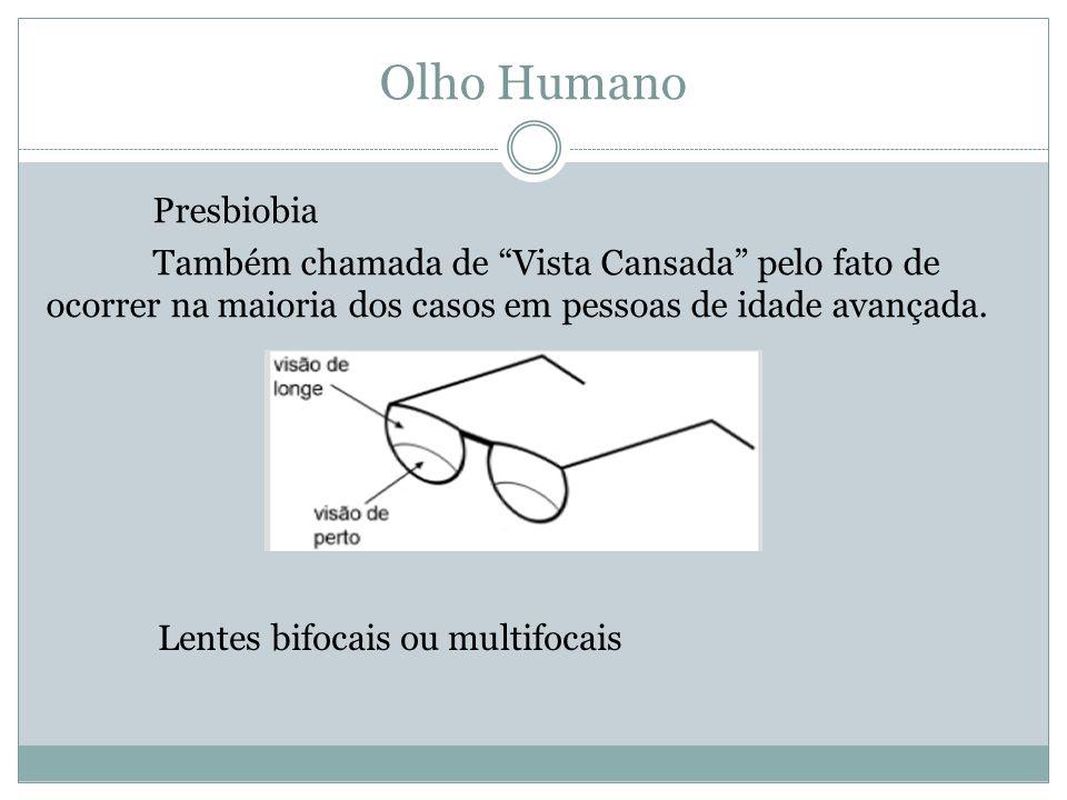 Olho Humano Presbiobia