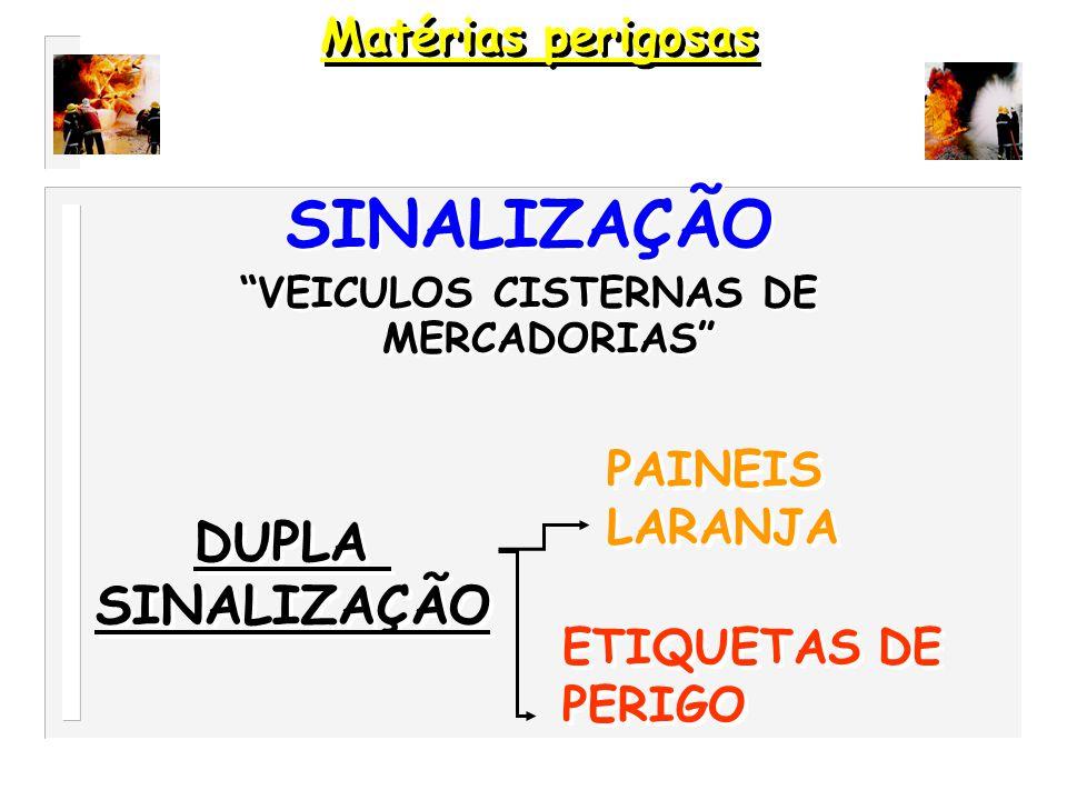 VEICULOS CISTERNAS DE MERCADORIAS