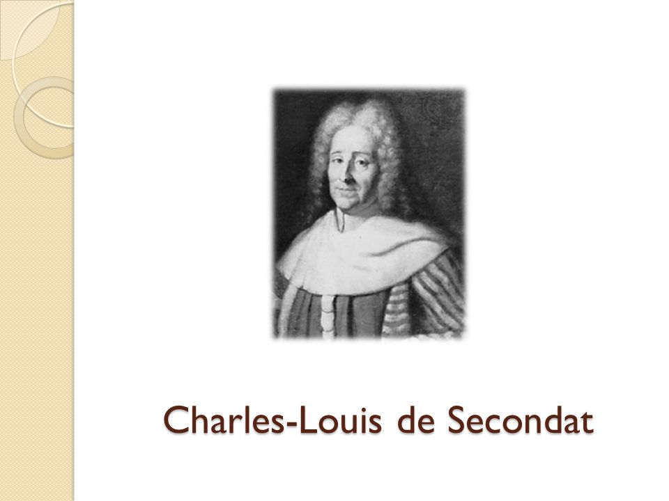 Charles-Louis de Secondat