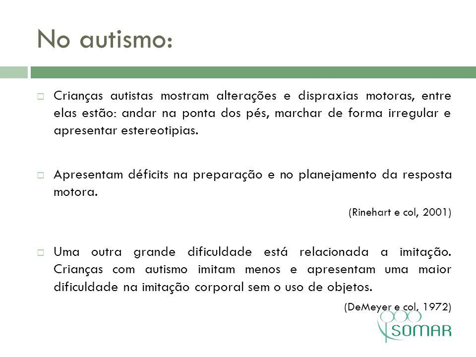No autismo: