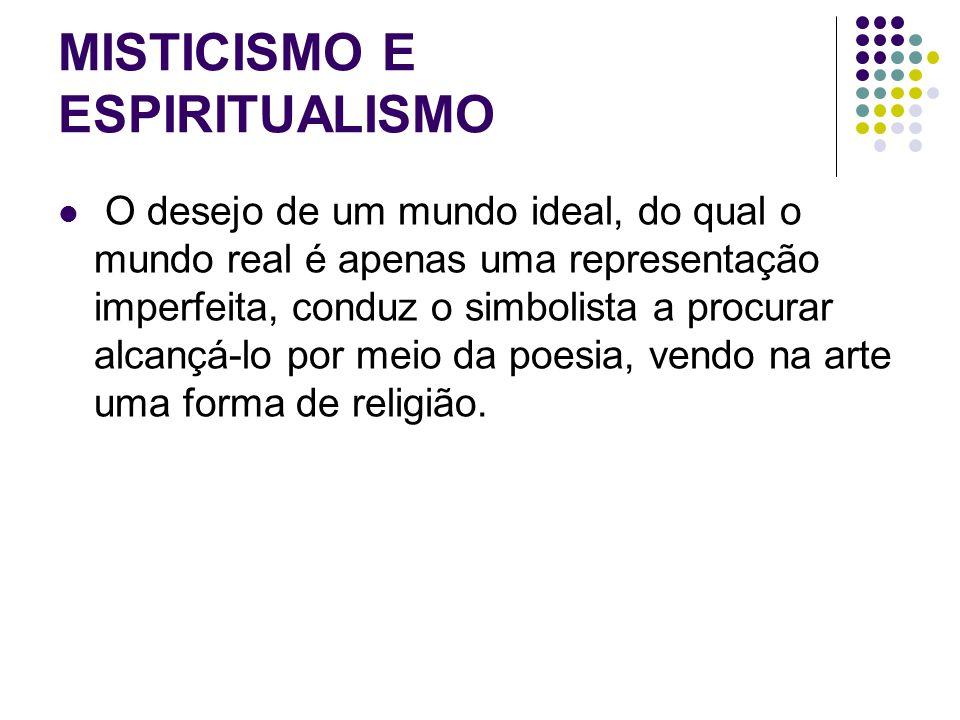 MISTICISMO E ESPIRITUALISMO