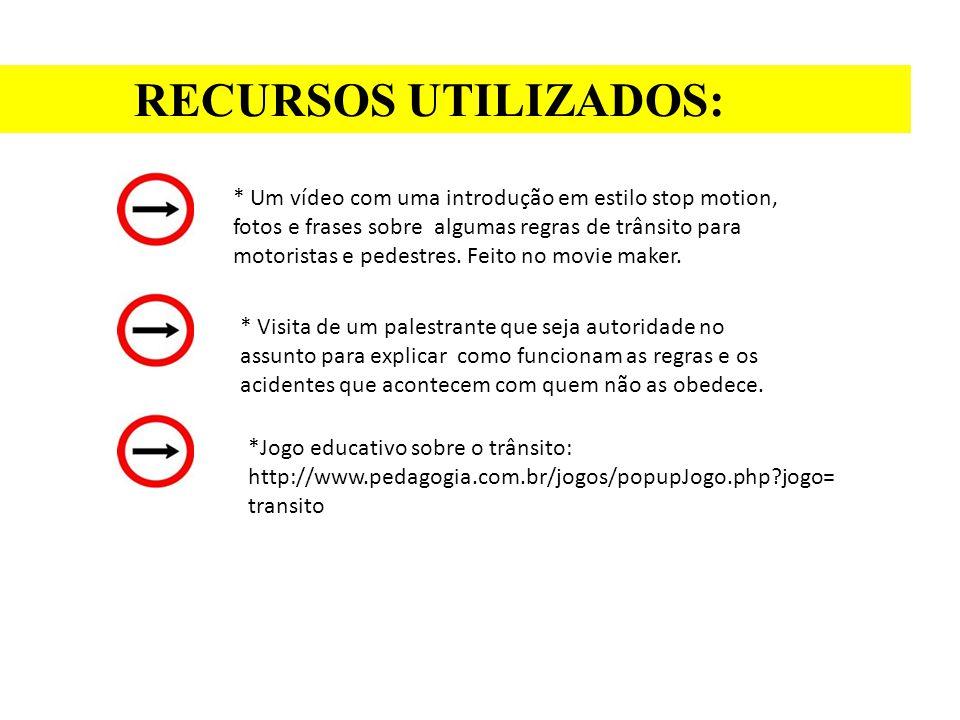 RECURSOS UTILIZADOS: