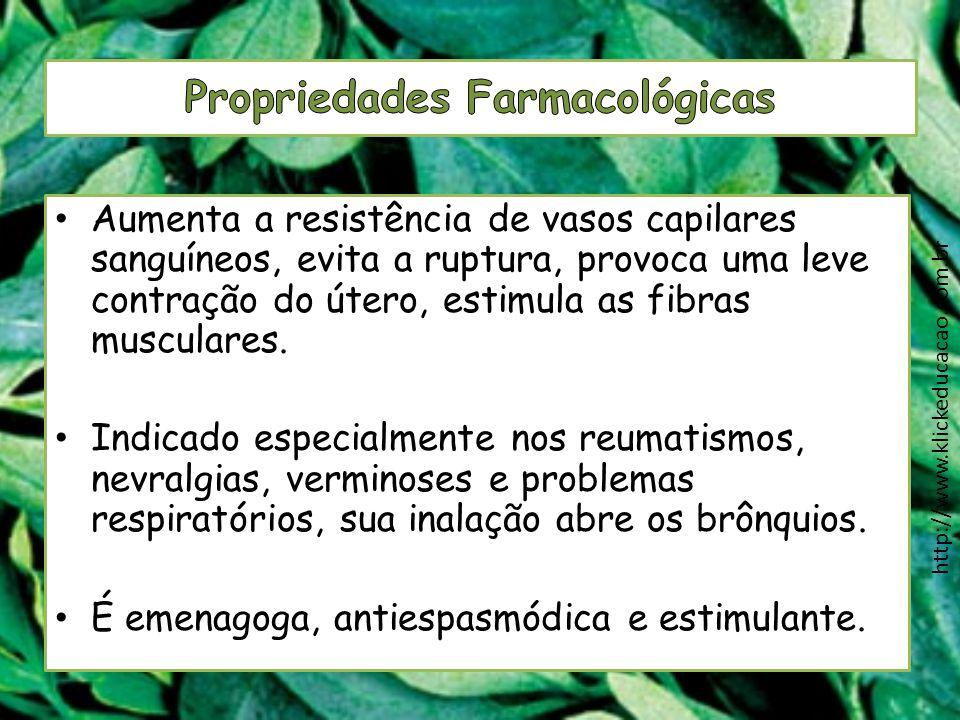 Propriedades Farmacológicas