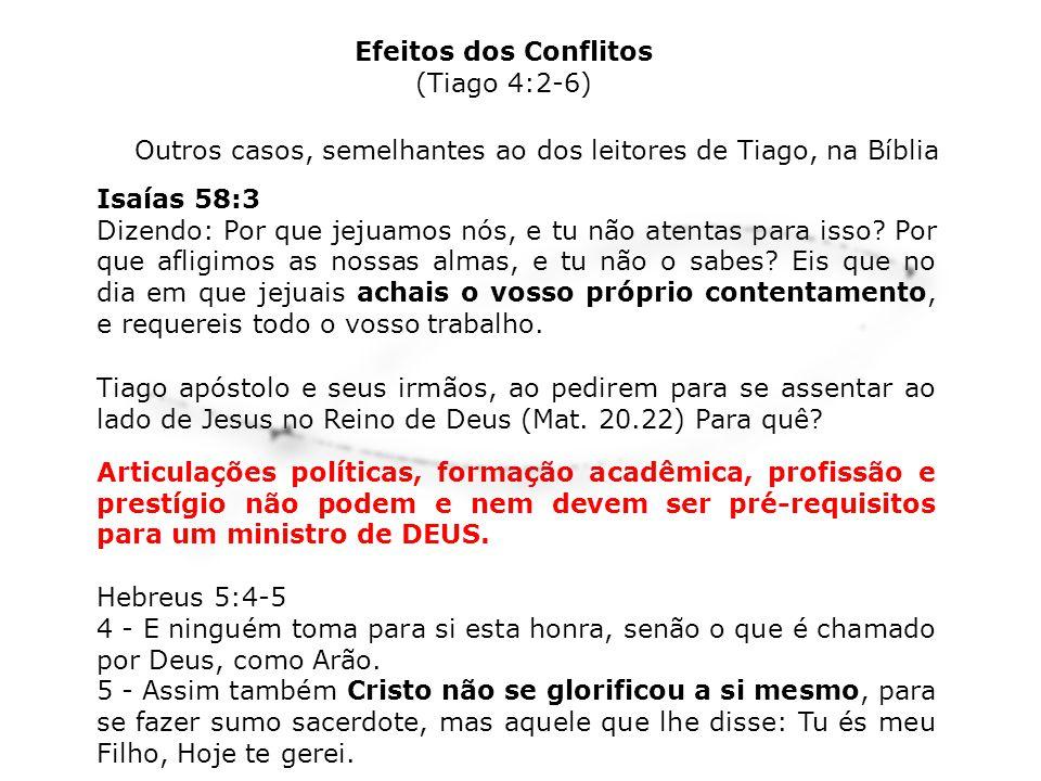 Outros casos, semelhantes ao dos leitores de Tiago, na Bíblia