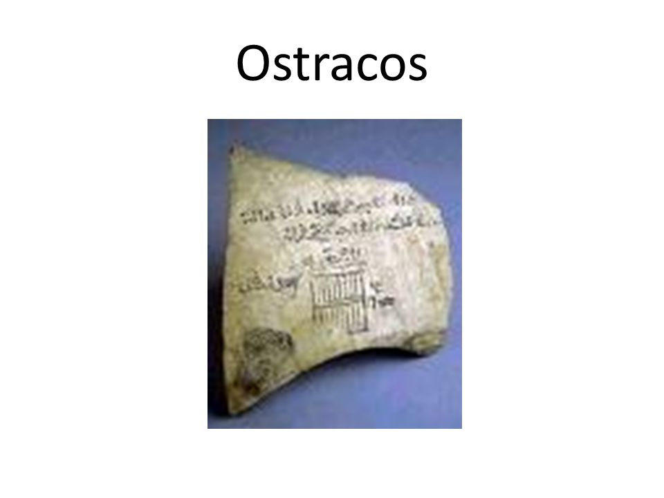 Ostracos