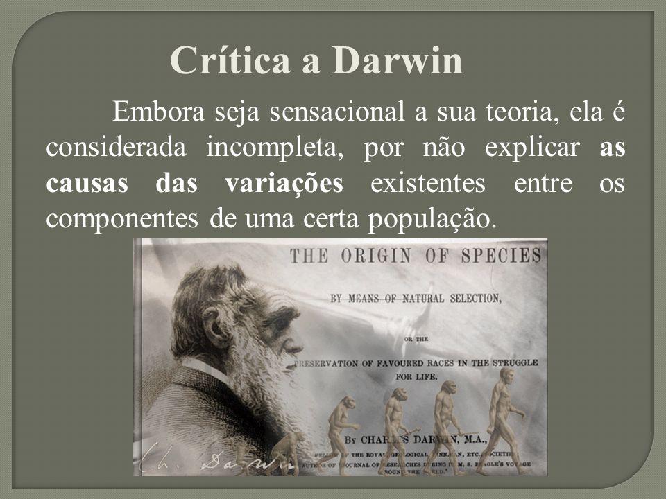 Crítica a Darwin