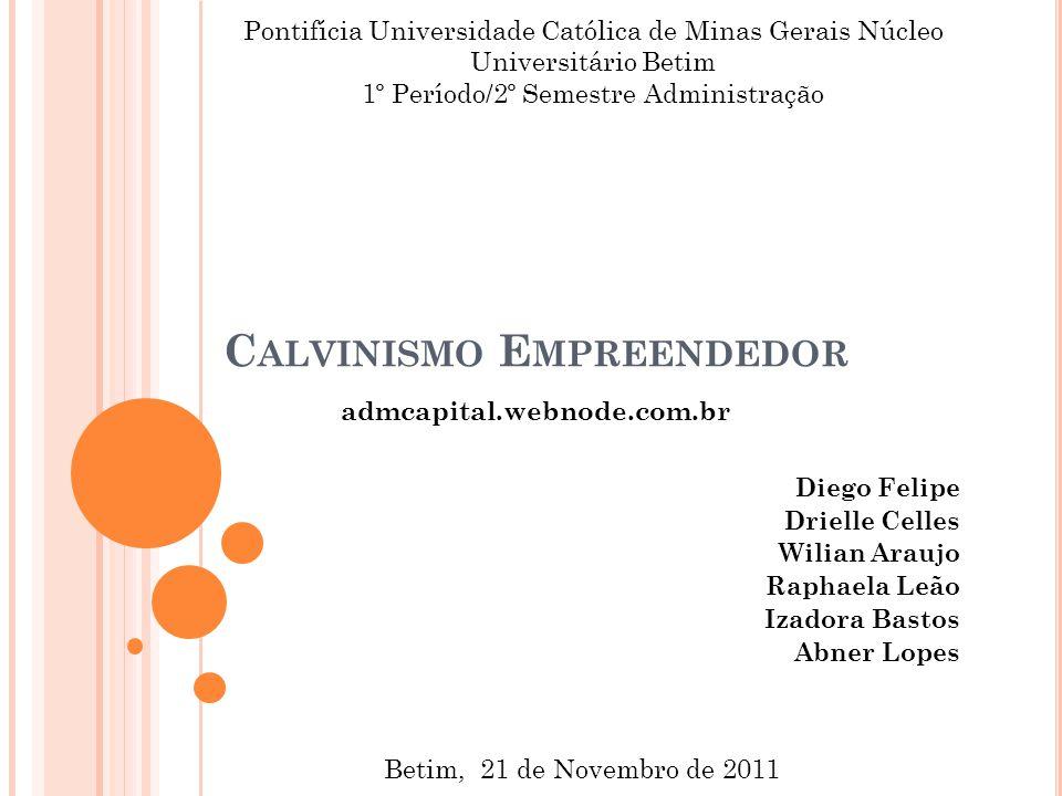 Calvinismo Empreendedor