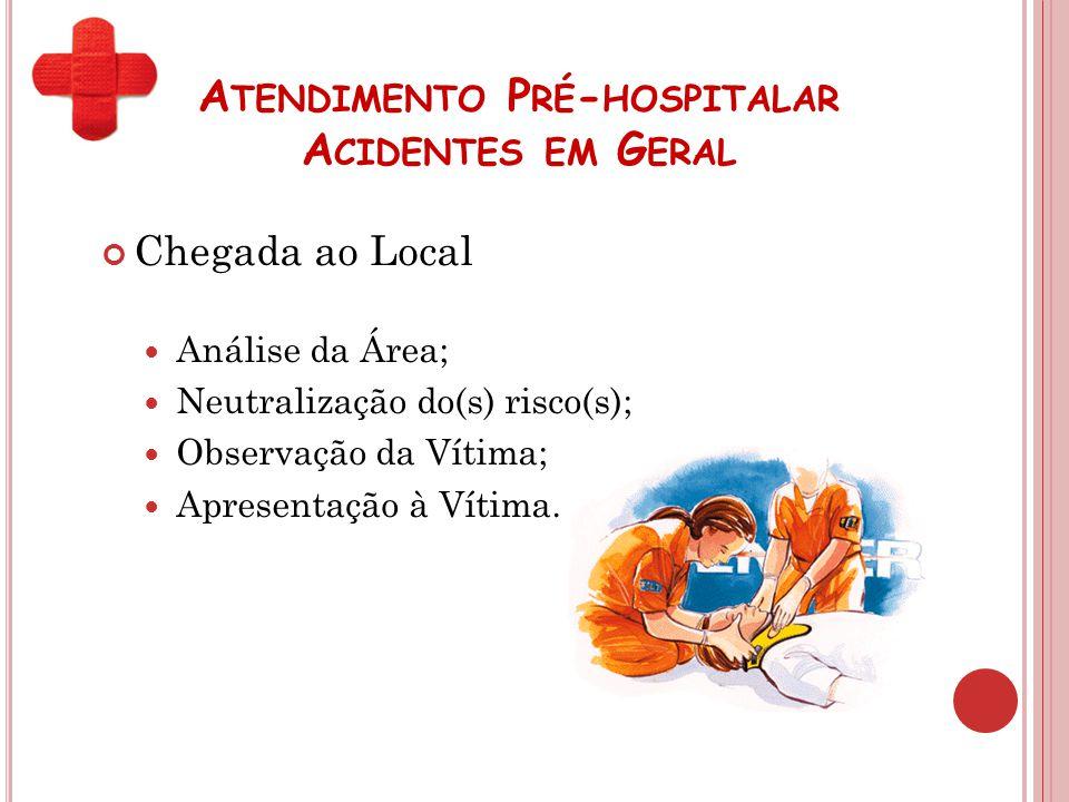 Atendimento Pré-hospitalar Acidentes em Geral