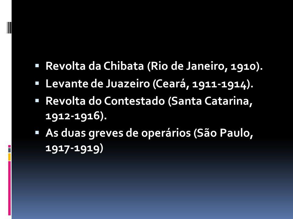 Revolta da Chibata (Rio de Janeiro, 1910).