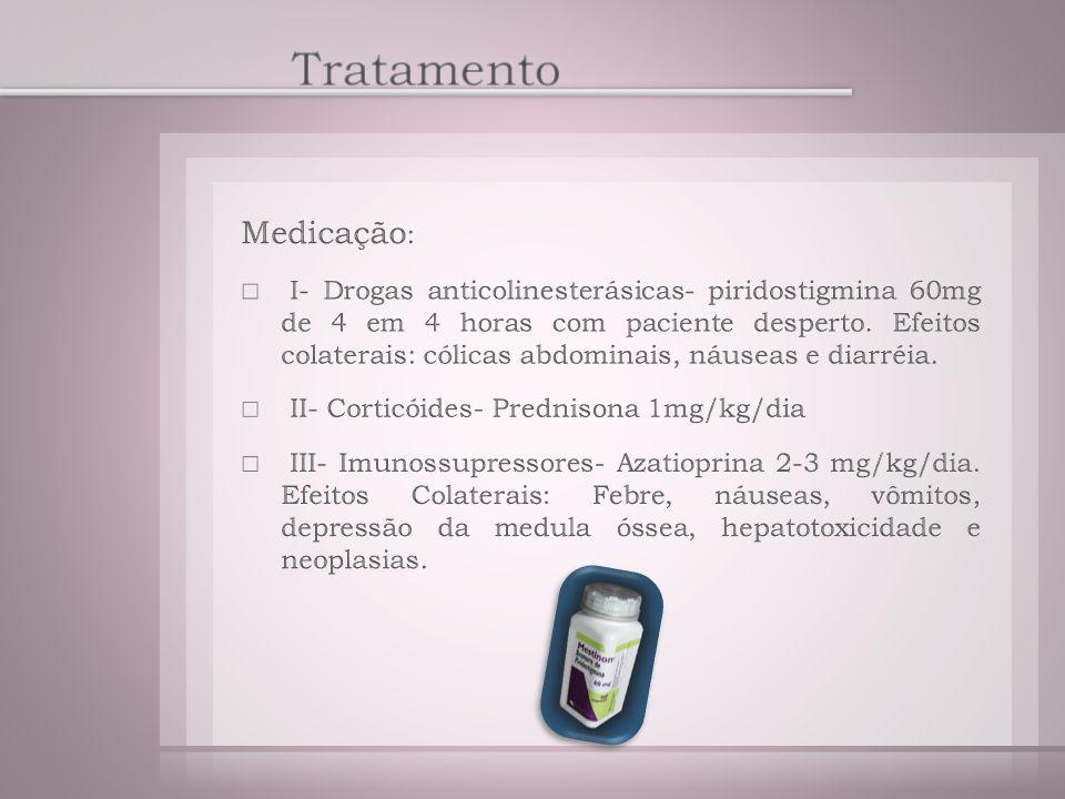 Tratamento Medicação: