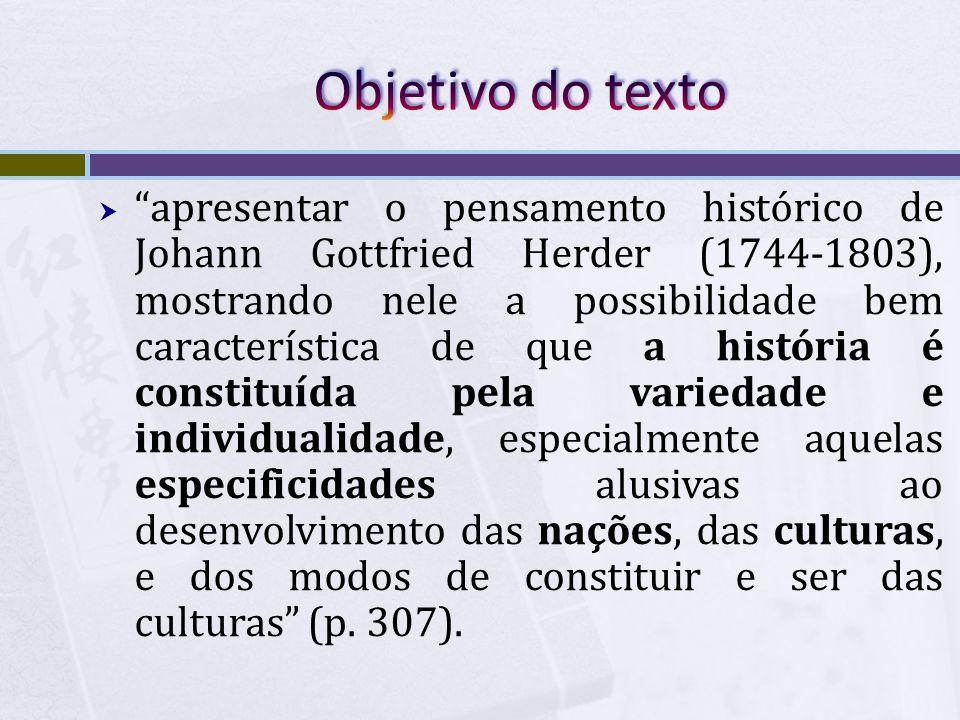 Objetivo do texto