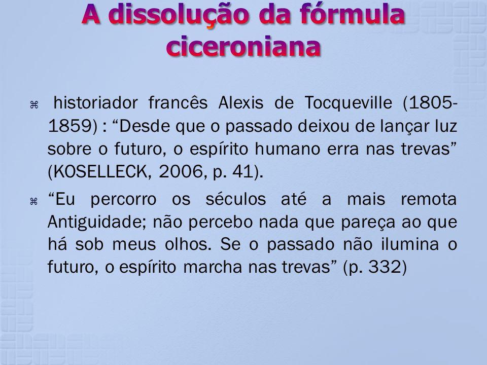 A dissolução da fórmula ciceroniana