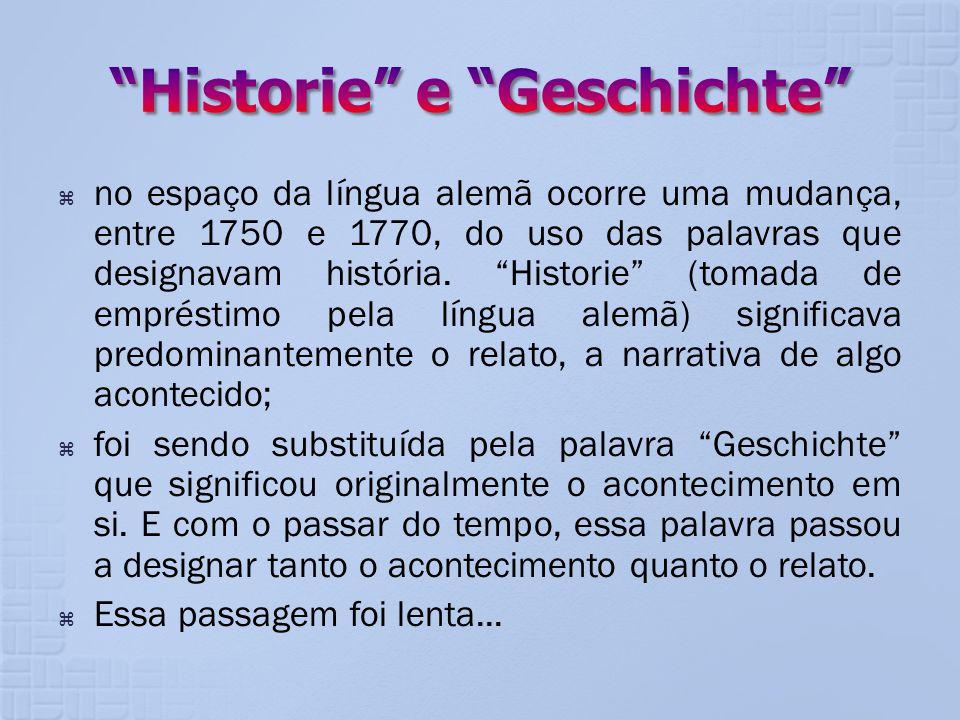 Historie e Geschichte