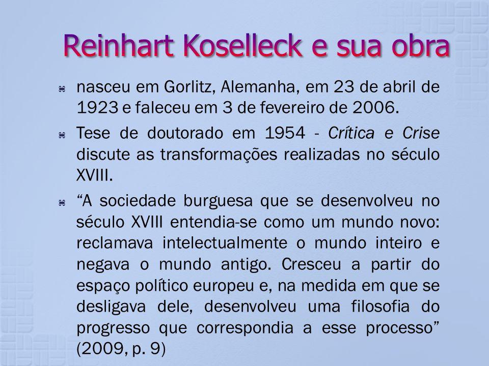 Reinhart Koselleck e sua obra