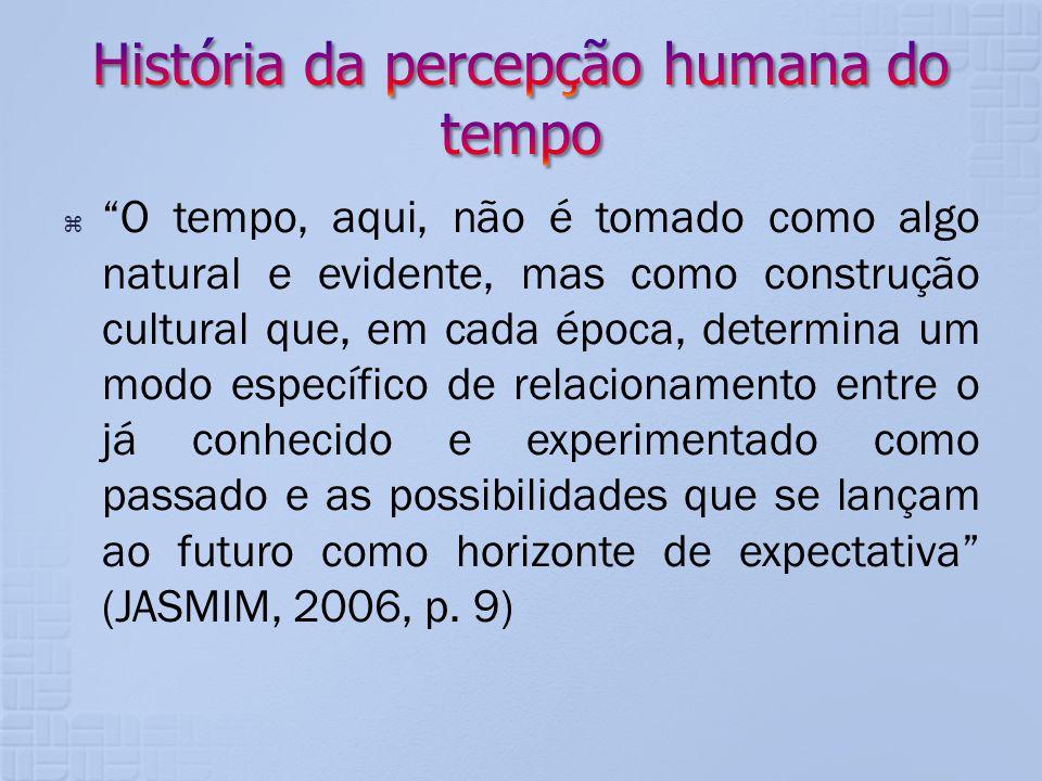 História da percepção humana do tempo