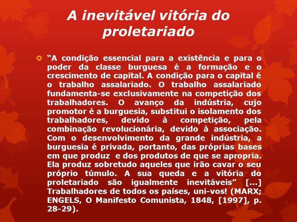 A inevitável vitória do proletariado