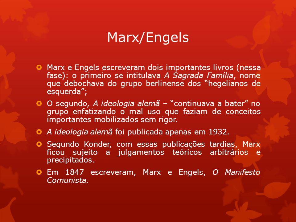 Marx/Engels