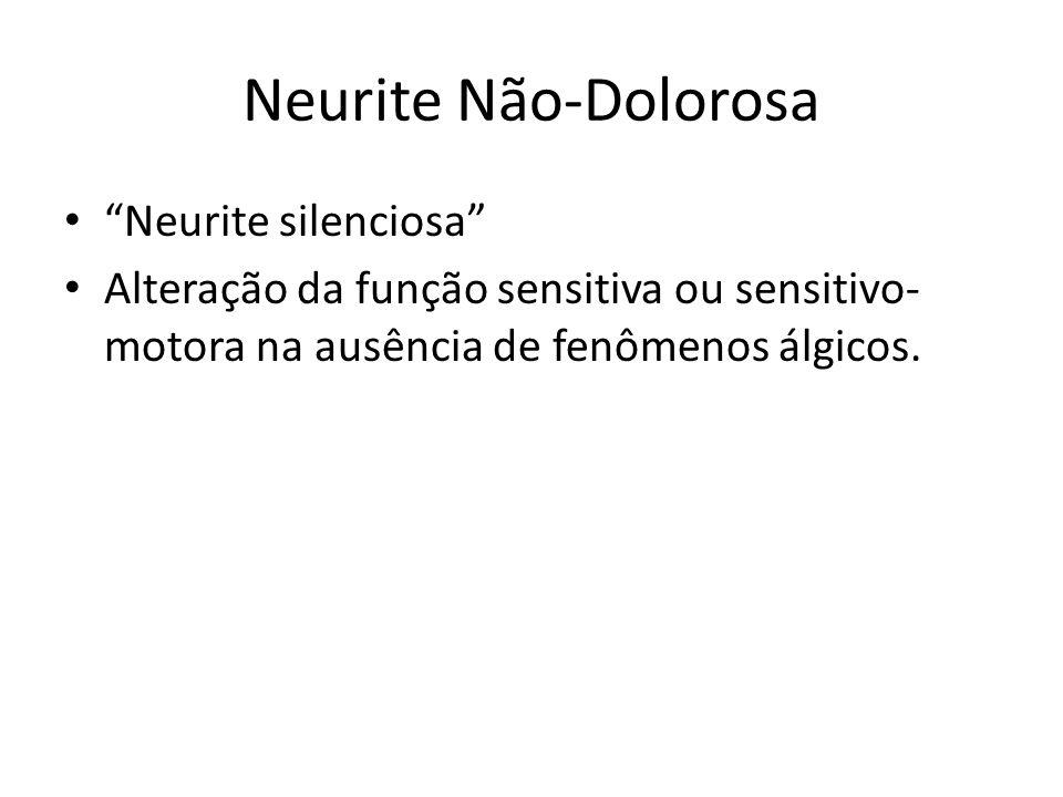 Neurite Não-Dolorosa Neurite silenciosa
