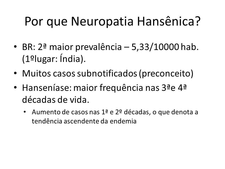 Por que Neuropatia Hansênica