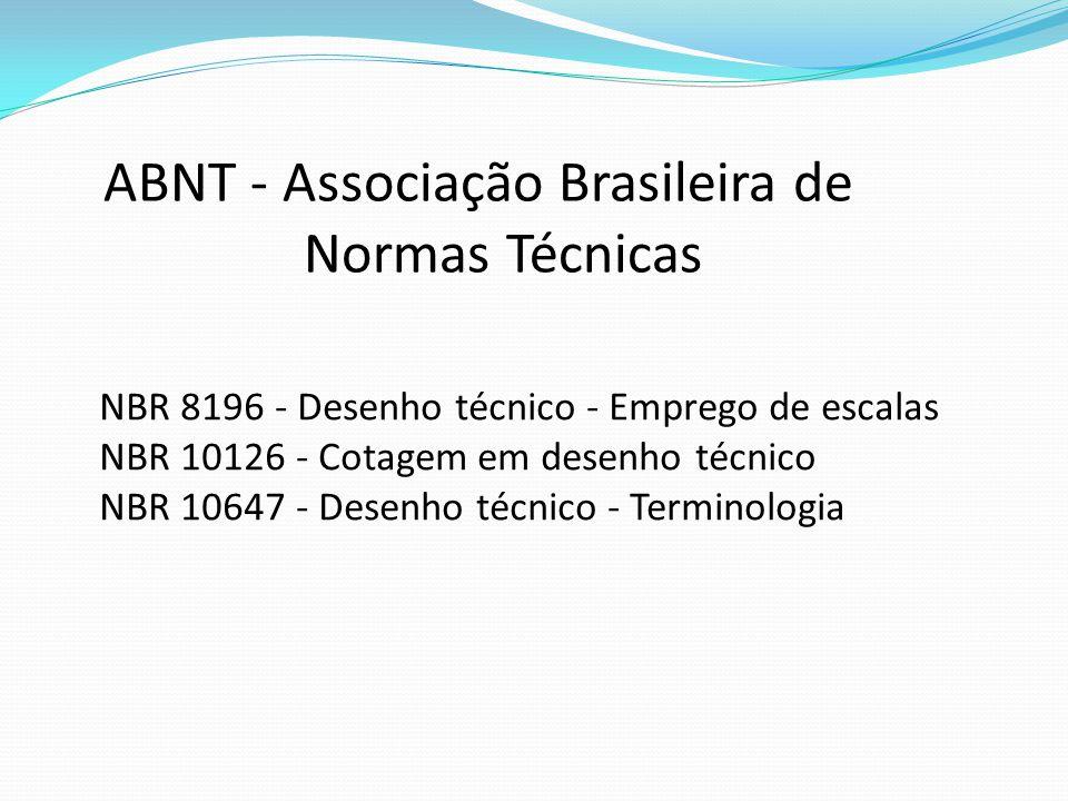 ABNT - Associação Brasileira de Normas Técnicas