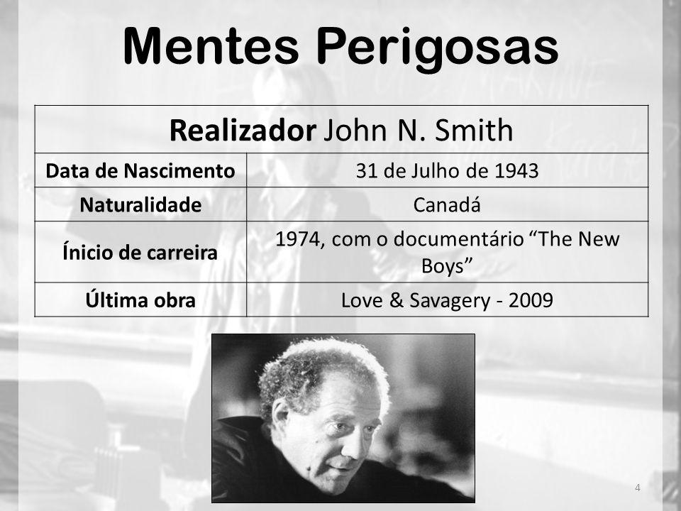 Mentes Perigosas Realizador John N. Smith Data de Nascimento