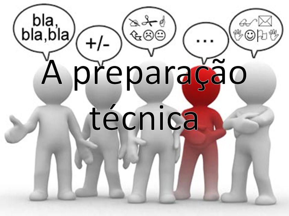 A preparação técnica