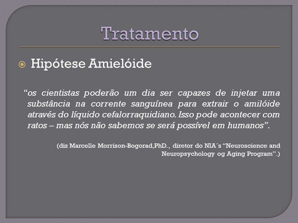Tratamento Hipótese Amielóide